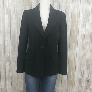 Anne Klein Jackets & Coats - Anne Klein Black Pin Stripe Blazer. G151